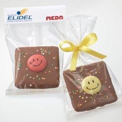 Schokolade mit Smiley