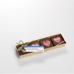 Schokolade-Packung mit Herz