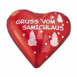 Schokoladen-Herz Samichlaus
