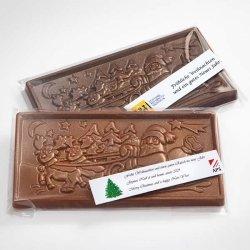 Schokoladen-Tafel Weihnacht