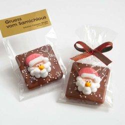 Schokolade mit Nikolaus