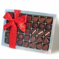 Geschenkspackung für Liebhaber dunkler Schokolade