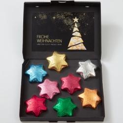 Weihnachtssterne in Box