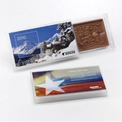 weihnachtskarte aus schokolade weihnachtsgeschenke www. Black Bedroom Furniture Sets. Home Design Ideas