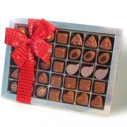 Geschenkspackung für Liebhaber von Milchschokolade