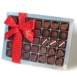 Geschenkspackung f�r Liebhaber dunkler Schokolade