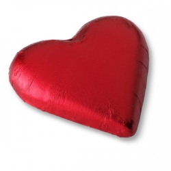 Maxi-Herz aus Schokolade